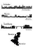 Capitals of Benelux