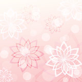 pink floral background 2
