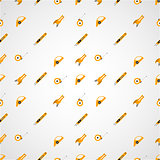Vector background for linoleum flooring tools.