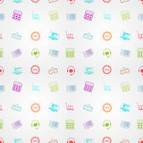 Colored vector background for online sales