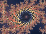 Decorate fractal spiral