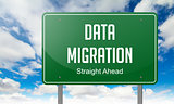 Data Migration on Highway Signpost.