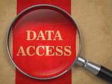 Data Access through Magnifying Glass.