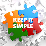 Keep it Simple on Multicolor Puzzle.