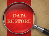 Data Restore through Magnifying Glass.