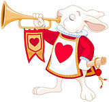 Bunny royal trumpeter