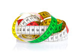 Colorful measure tape