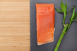 Fresh salmon fish
