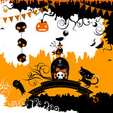 halloween themed design