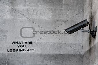 CCTV Graffiti
