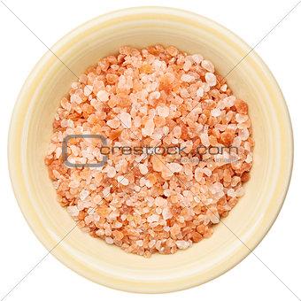 bowl of Himalayan salt