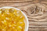 fish oil supplement  capsules