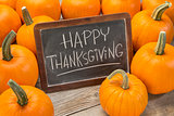 Happy Thanksgiving on blackboard