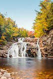Mary Ann Falls in the fall