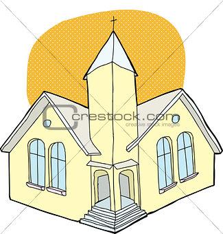 Church With Halo