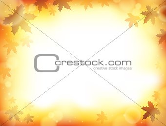 Autumn theme background 8