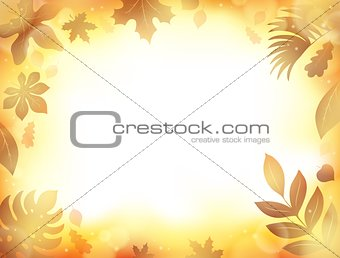 Autumn theme background 9