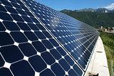 Solar panels implant