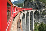 Train of Bernina Express