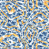 Seamless pattern patterned