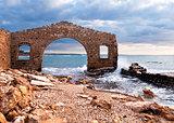 Factory ruins, Avola, Sicily (Italy)