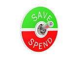 Save spend toggle switch