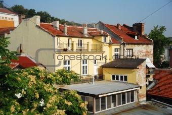 Classic European architecture