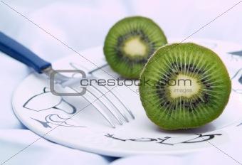 Kiwis On A Plate