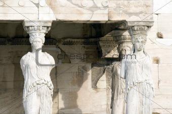 Acropolis Maiden Columns