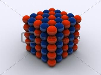 molecule cube