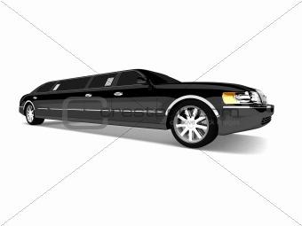 3d limousine