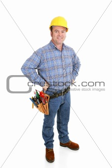 Real Construction Worker - Confident