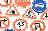 road sign macro