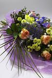 Bridal bouquet still life