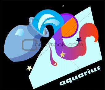 horoscope symbol - aquarius