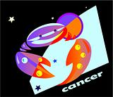 horoscope symbol - cancer