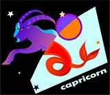 horoscope symbol - capricorn