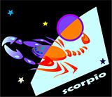 horoscope symbol - scorpio
