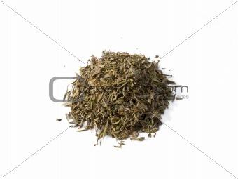 Savory Seasoning Pile Isolated