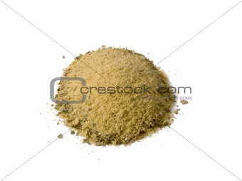 Poultry Seasoning Pile Isolated
