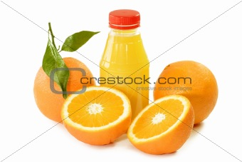 Orange Juice in a Bottle
