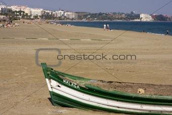 Beach At Estepona