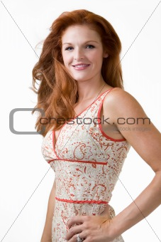 Beautiful red head