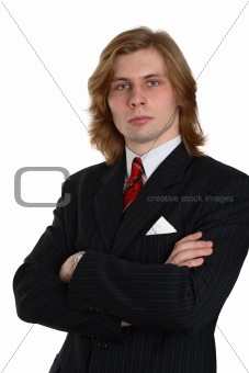 A businessman in a suit 2