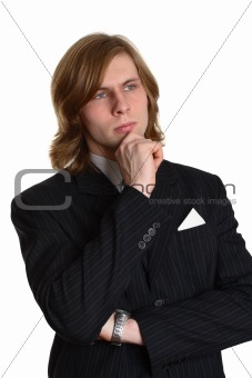 A businessman in a suit 3