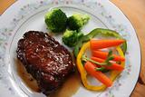 Porkchop with vegetables