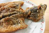 Whole fried fish