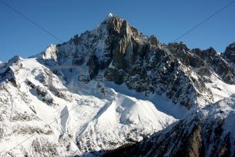 Chamonix mountains