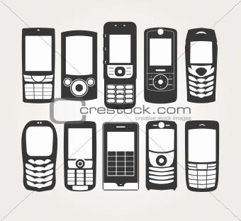 Cellphones Outline