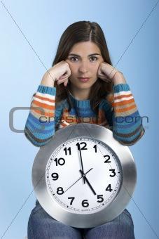 Clock Woman